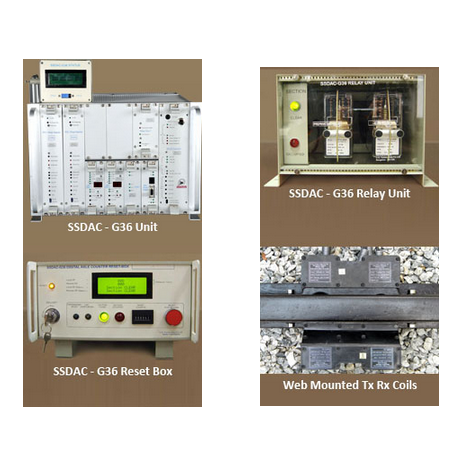 Single Section Digital Axle Counter (G36)