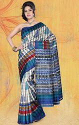 Bhagalpuri+Silk+Printed+Saree+with+Blouse