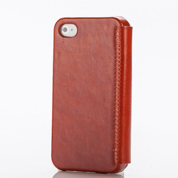 Mobile Leather Case Cover For Apple iPhone 4S