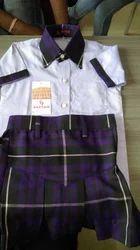 Purple Colour School Uniform