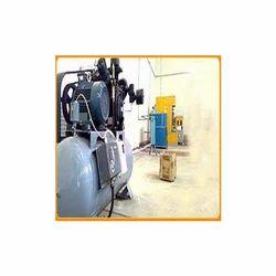 Semi Auto Blow Moulding Machine