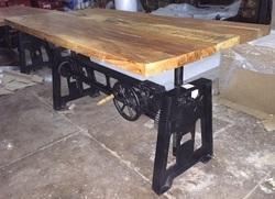 Industrial Heavy Dining Table