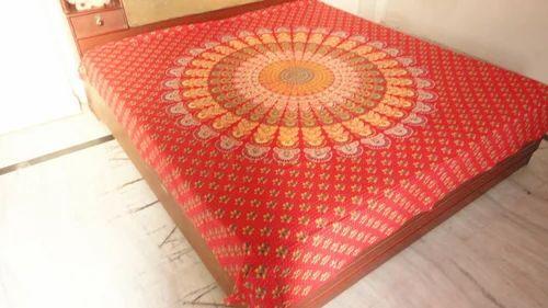 Home Decor Block Print Bed Sheets