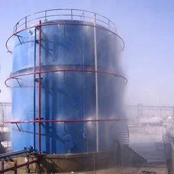 Medium Velocity Water Spray System