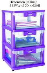 Plastic Storage Cupboard