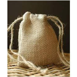 Natural Color Drawstring Bag by MLG