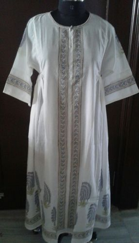 Stylish Hand Block Bhopali Tunic