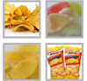 Extruded Fried Chips snacks production line