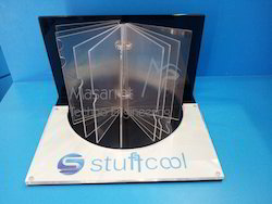 Acrylic Mobile Stand Guard Display Stand