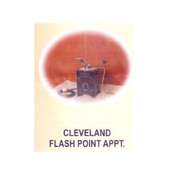 Clevelands Flash Point Apparatus