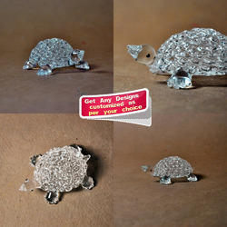 Lampwork - Flameworking Glass Small Turtle - Glass Tortoise
