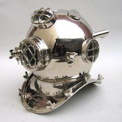 Diver's Helmet Mark V- Chrome