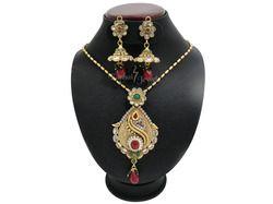 polki traditional necklace set