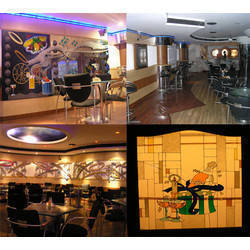 Andhra Club Interior Decoration