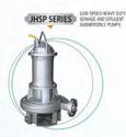 Low Speed Heavy Duty Sewage Submersible Pump