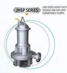 Low Speed Heavy Duty Sewage Submersible Pump
