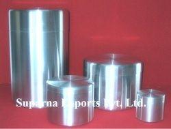Ceylon Tea Aluminum Canister