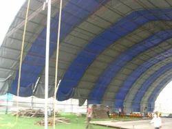 mild steel structure tarpaulin