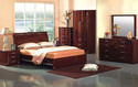 bedroom wooden furniture set