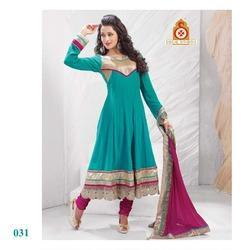 Party Wear Embroidery Anarkali Suit
