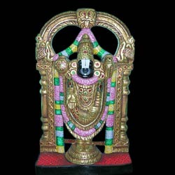 Beautiful Statue of Tirupati Balaji