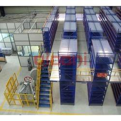 Heavy Duty Two Tier Racking