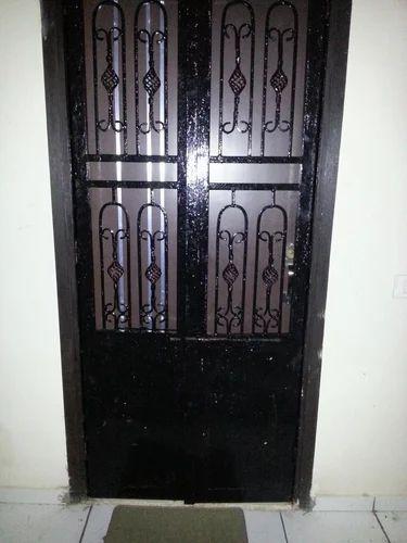 Metal Main Door Fancy Metal Door Manufacturer From Ahmedabad