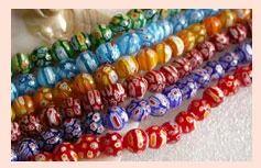 Lampwork Millefiori Beads Code : MB-05