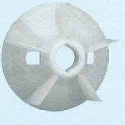 Plastic Fan Suitable for Bharat Bijlee 132 Frame Size 2 Pole