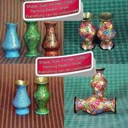 Hand Painted Decorative Multi Color Flower Vases