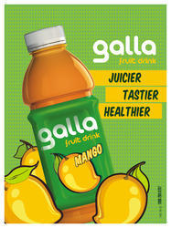 Galla Fruit Jucies - Thick Mango and Apple