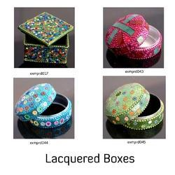 Lacquered Jewelry Box