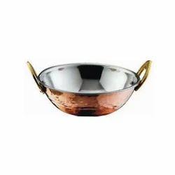 Copper Steel Karahi