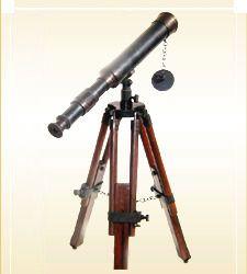 Brass Antique Telescope