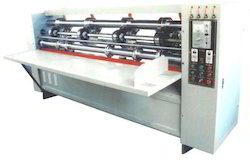 Thin Blade Scoring Slitter Machine