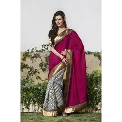 Double Shade Saree