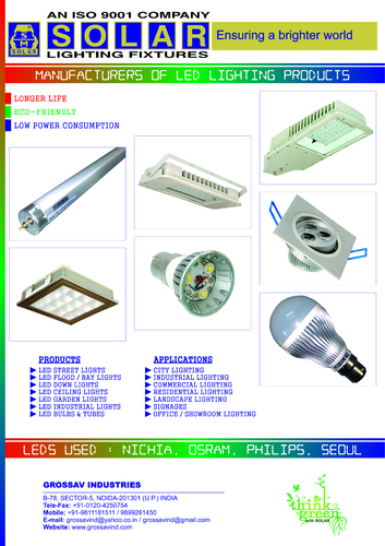 Led Lighting / Luminaries