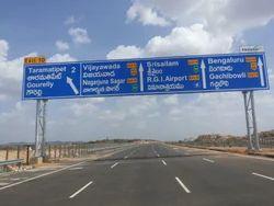 Road Sign Gantry
