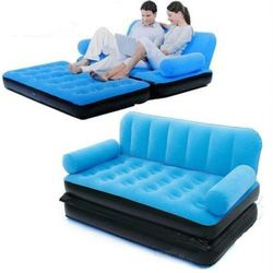 5 in1 Air Bed Sofa Velvet Brand