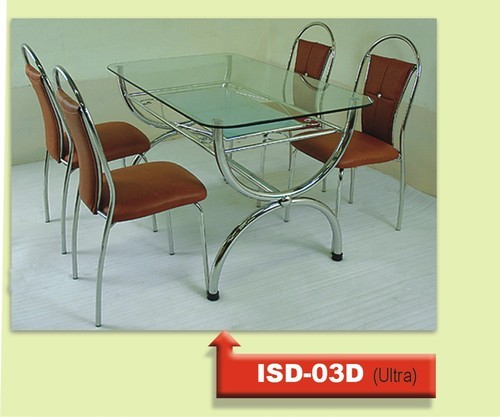 Interesting Stainless Steel Dinning Set Stainless Steel Dinning Set Isd A  With Stainless Steel Dining Table.