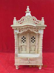Savan Wood Regular Pillar type Mandir