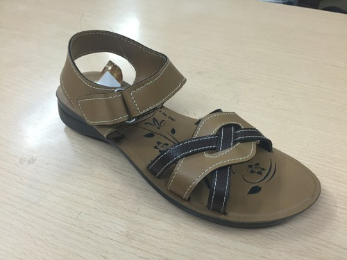 Ladies PU Casual Sandals