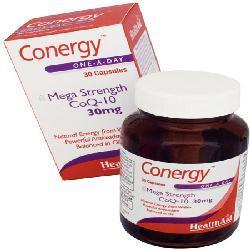 Conergy COQ 10 30Mg 30 Capsules