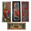 Madhubani Painting - Folk Art Decorative Paintings - Peacock