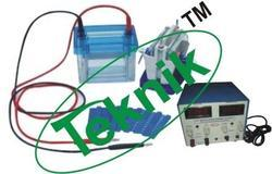 vertical slab gel electrophoresis apparatus