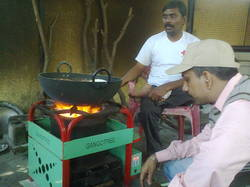Domestic Pellet Stove