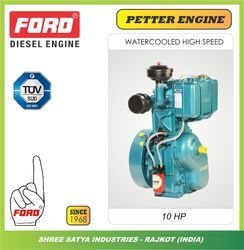 water cooled single cylinder bush type diesel engine