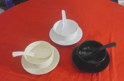 Unbreakable Polycarbonate Soup Bowl Set