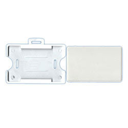 horizontal plastic id card holder - Plastic Id Card Holder