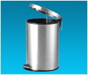 Stainless Steel Pedal Solid Bin